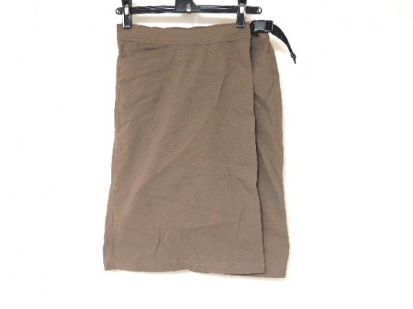 mont-bell(モンベル) 巻きスカート サイズS レディース美品  ブラウン