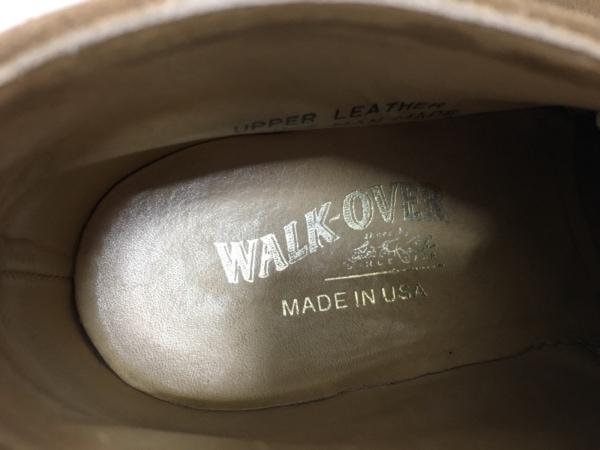 WALK OVER(ウォークオーバー) シューズ 8 メンズ ライトブラウン スエード