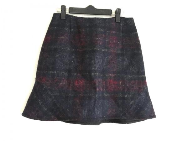 DRESSTERIOR(ドレステリア) スカート サイズ38 M レディース美品  黒×マルチ