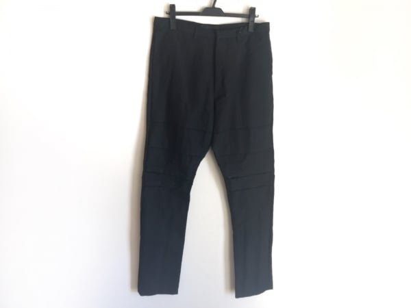 JULIUS(ユリウス) パンツ サイズ3 L メンズ 黒 ダメージ加工