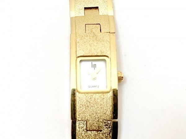 Lip(リップ) 腕時計 188022-7021 レディース シェル文字盤 ライトブルー