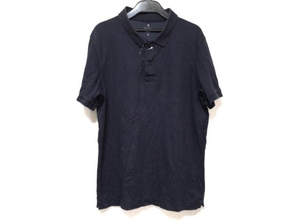 tomas maier(トーマスマイヤー) 半袖ポロシャツ サイズL メンズ ネイビー ×ユニクロ