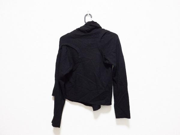コムデギャルソン 長袖セーター サイズS レディース 黒 変形デザイン