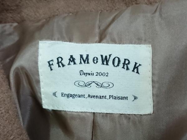 Framework(フレームワーク) コート サイズ38 M レディース ブラウン