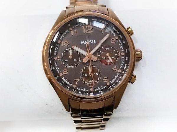 FOSSIL(フォッシル) 腕時計 CH-2793 レディース クロノグラフ ダークブラウン