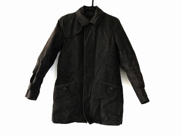 MEN'S MELROSE(メンズメルローズ) コート サイズ4 XL メンズ ダークブラウン 冬物
