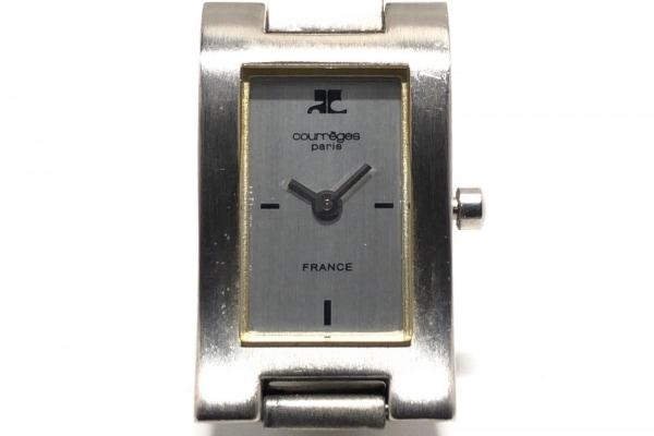 COURREGES(クレージュ) 腕時計 R220 レディース シルバー