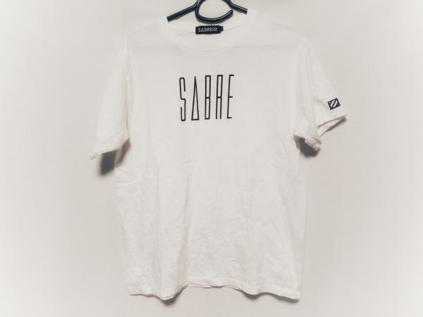 SABRE(セイバー) 半袖Tシャツ サイズM メンズ 白×黒