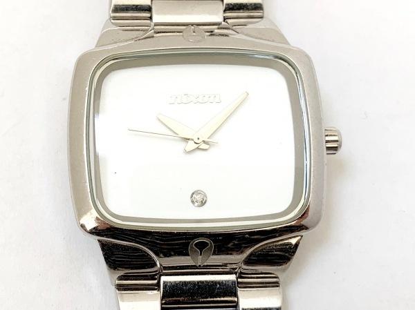 NIXON(ニクソン) 腕時計 THE PLAYER - メンズ アイボリー