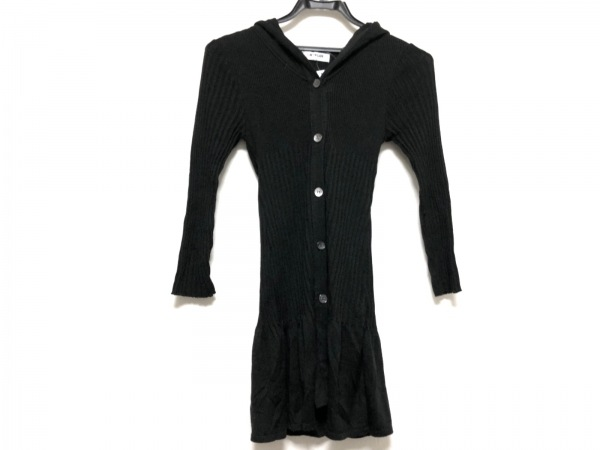 MORGAN(モルガン) ワンピース サイズF F レディース美品  黒