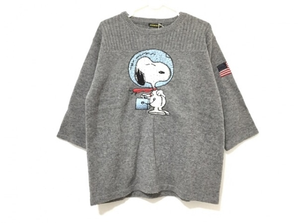 ジャクソンマティス 長袖セーター サイズOEN レディース美品  グレー×ブルー×マルチ