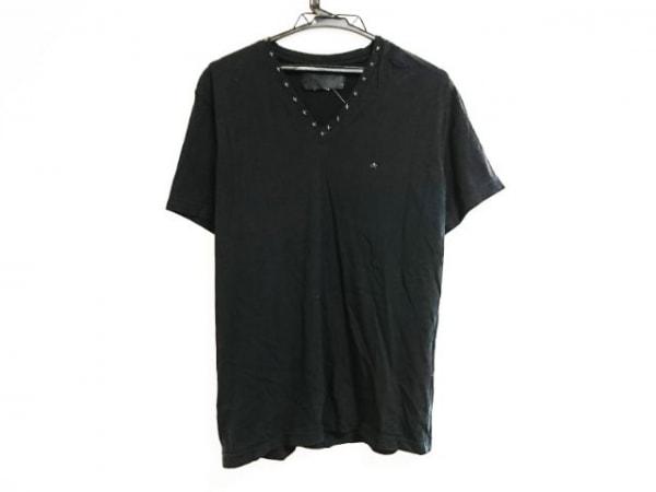 Roen(ロエン) 半袖Tシャツ サイズ48 XL メンズ 黒 スカル/スタッズ