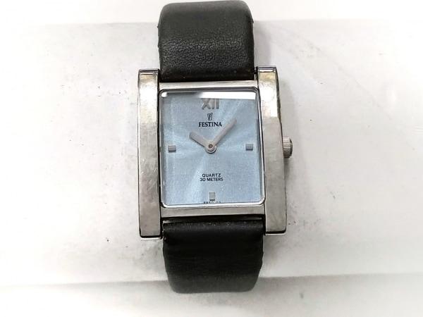 FESTINA(フェスティナ) 腕時計 8950 レディース 革ベルト シルバー