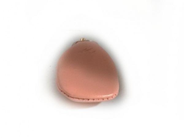 KITAMURA(キタムラ) 小物入れ美品  ピンク がま口/印鑑ケース レザー