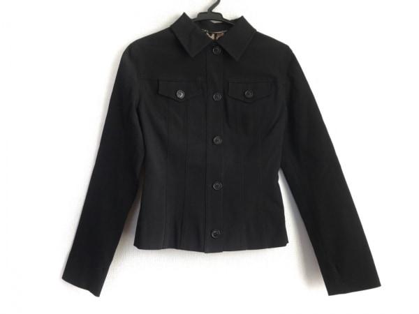 DOLCE&GABBANA(ドルチェアンドガッバーナ) ジャケット サイズ38 S レディース美品  黒
