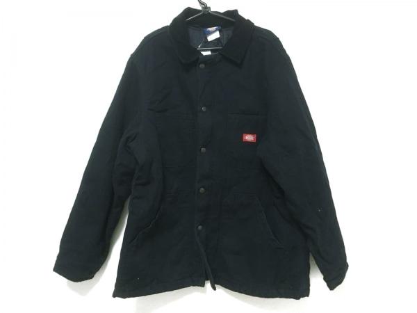 Dickies(ディッキーズ) コート サイズL メンズ 黒 冬物/キルト裏