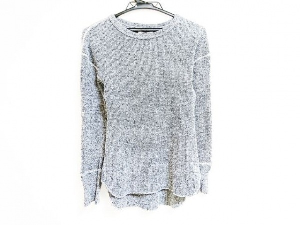 FUMIKA UCHIDA(フミカウチダ) 長袖セーター サイズS レディース ダークグレー×白×黒