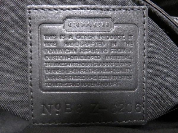 COACH(コーチ) ショルダーバッグ - 6206 ダークブラウン ポリウレタン×レザー