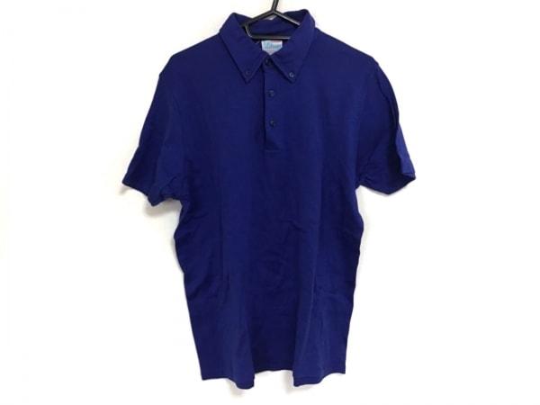 Letroyes(ルトロワ) 半袖ポロシャツ サイズL レディース ブルー