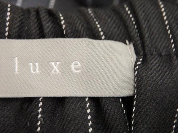 theory luxe(セオリーリュクス) パンツ サイズ38 M レディース 黒×白 ストライプ