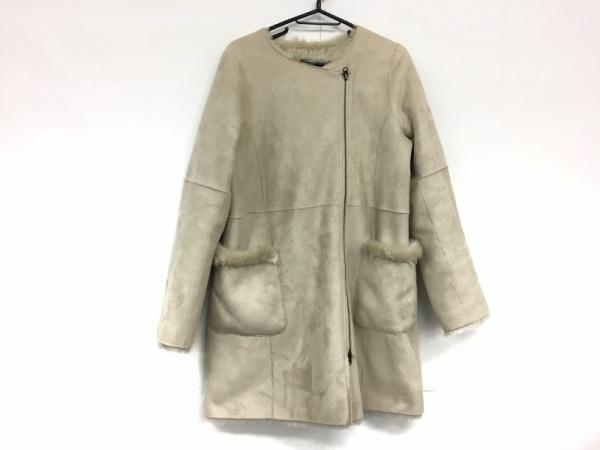 ジュエルチェンジズ コート サイズ38 M レディース美品  ベージュ 冬物