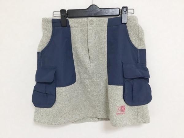 Karrimor(カリマー) スカート サイズM  M レディース ベージュ×ネイビー