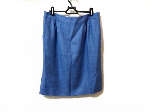 miss ashida(ミスアシダ) スカート サイズ11 M レディース美品  ライトブルー