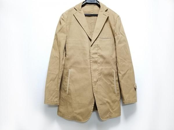 アバハウス ジャケット サイズ2 M メンズ ライトブラウン 春・秋物/ジップアップ