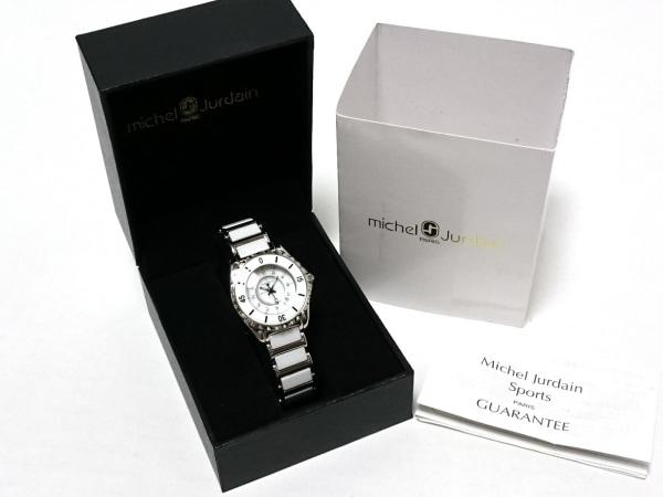 ミッシェルジョルダン 腕時計 エレガンツァ MJ-9350 レディース シェル文字盤/SPORT