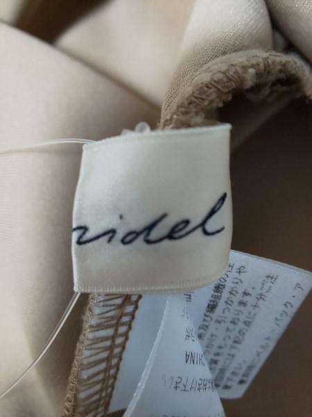snidel(スナイデル) ワンピース サイズ0 XS レディース 黒×ライトブラウン