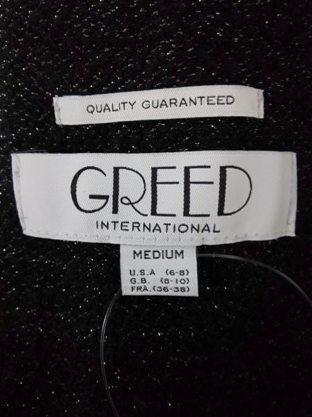 GREED(グリード) オールインワン レディース 黒 ラメ