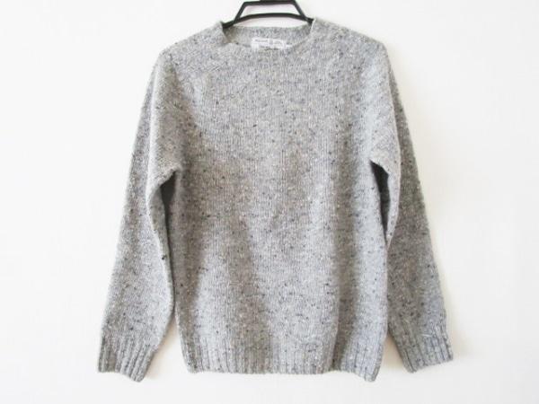 Inverallan(インバーアラン) 長袖セーター サイズ36 S メンズ グレー