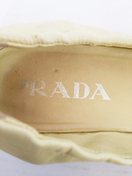 PRADA(プラダ) パンプス 37 レディース ライトグリーン レザー
