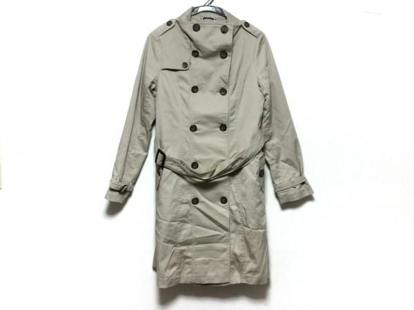 アーノルドパーマー トレンチコート サイズ3 L レディース美品  ベージュ 冬物