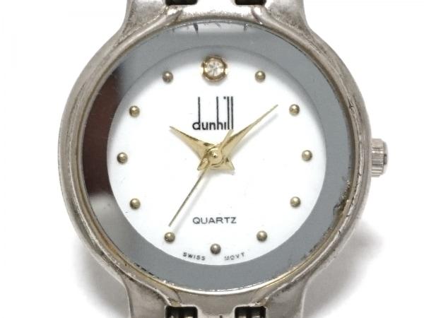 dunhill/ALFREDDUNHILL(ダンヒル) 腕時計 - レディース 白
