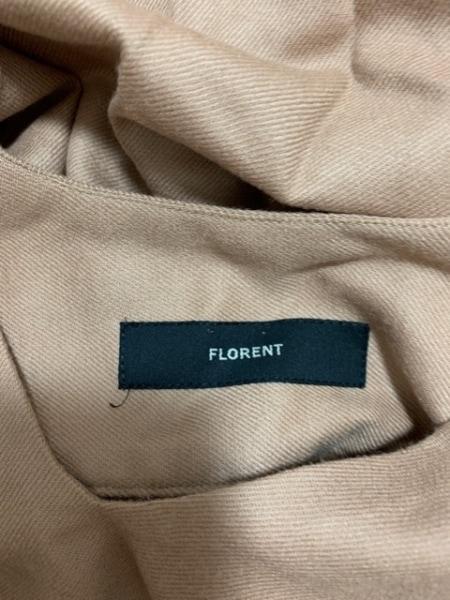 FLORENT(フローレント) ワンピース レディース美品  ブラウン