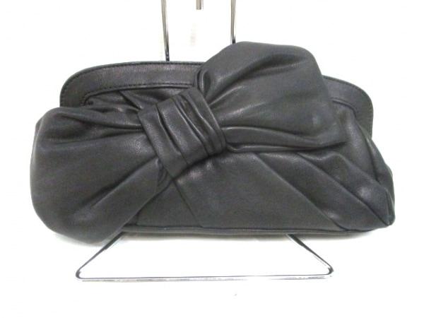 rienda(リエンダ) クラッチバッグ美品  黒 合皮