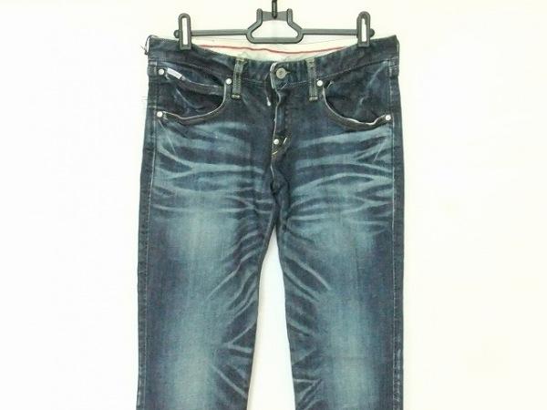 FACTOTUM(ファクトタム) ジーンズ サイズ29 メンズ美品  ブルー ダメージ加工