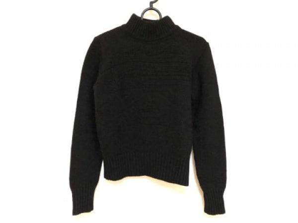 ヴェルサーチスポーツ 長袖セーター サイズXS レディース 黒 ハイネック