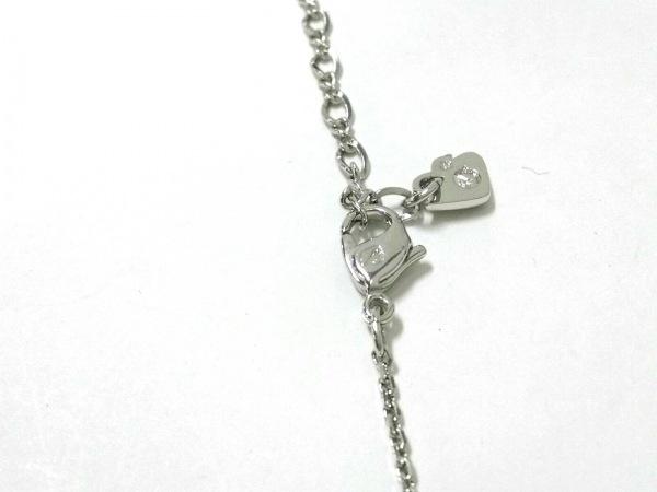 スワロフスキー ネックレス美品  スワロフスキークリスタル×金属素材 木と鳥