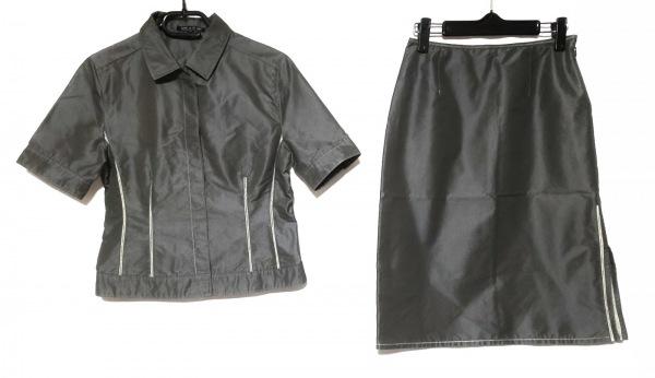 COMME CA DU MODE(コムサデモード) スカートセットアップ サイズM レディース カーキ