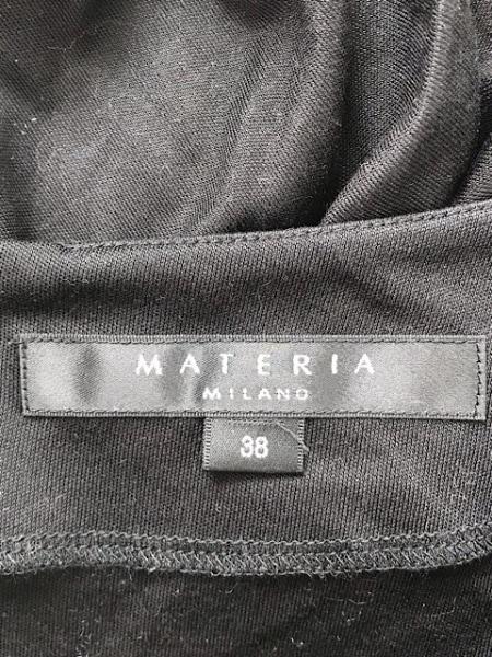 MATERIA(マテリア) 長袖カットソー サイズ38 M レディース 黒