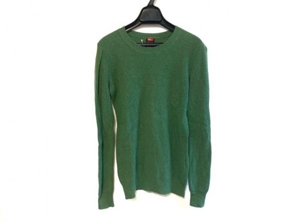 ダブルスタンダードクロージング 長袖セーター サイズF レディース グリーン
