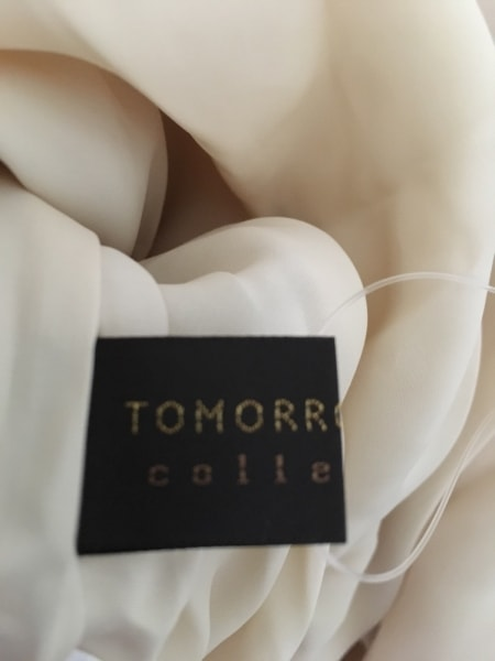TOMORROWLAND(トゥモローランド) ワンピース サイズ36 S レディース美品  ベージュ