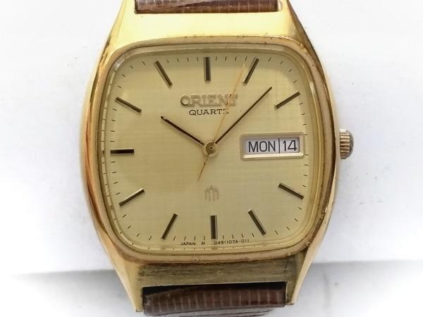 ORIENT(オリエント) 腕時計 6049407-40 メンズ ゴールド