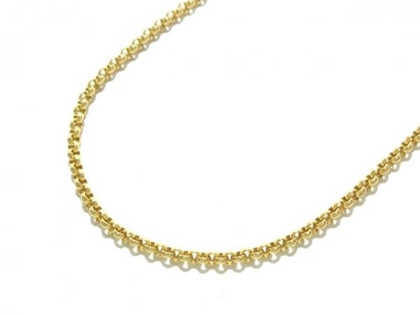 Chopard(ショパール) ネックレス美品  K18YG 総重量8.3g