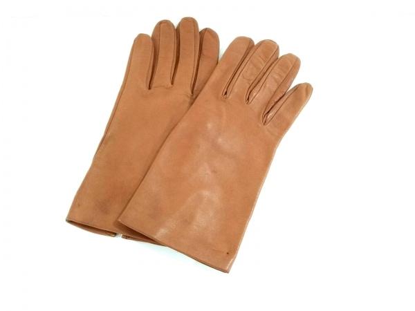 Sermoneta gloves(セルモネータグローブス) 手袋 レディース ブラウン レザー