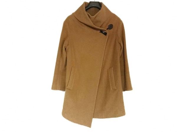 グーコミューン コート サイズ38 M レディース美品  ライトブラウン 冬物