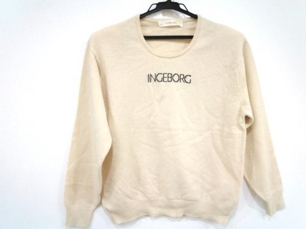 INGEBORG(インゲボルグ) 長袖セーター レディース美品  ベージュ