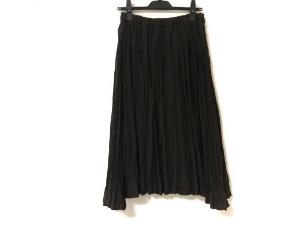 tumugu(ツムグ) ロングスカート サイズF レディース美品  ダークブラウン